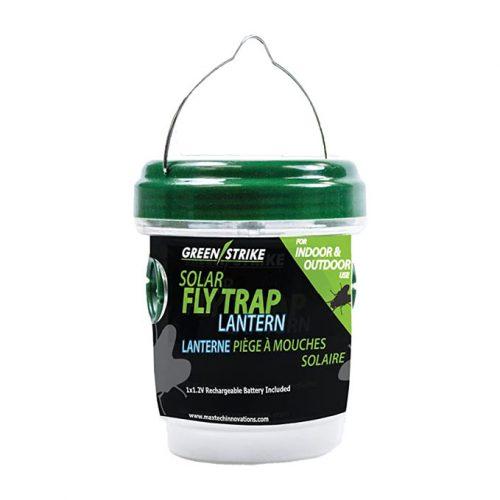 GreenStrike Solar Fly Trap Lantern, Green and Clear