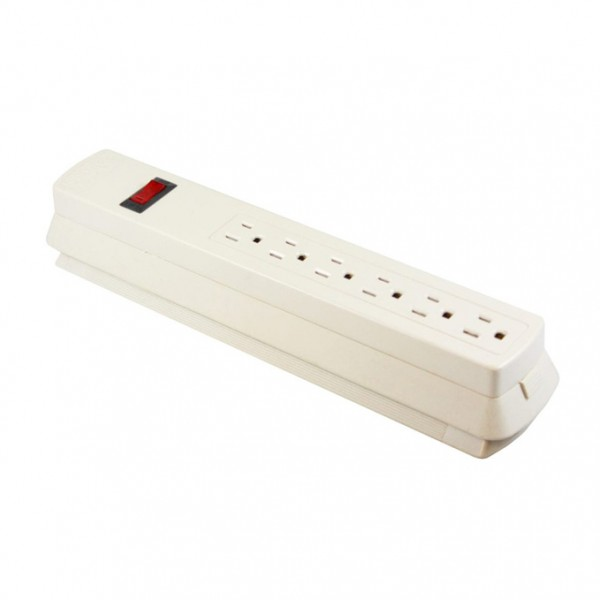 Surge protector with built in bed bug trap